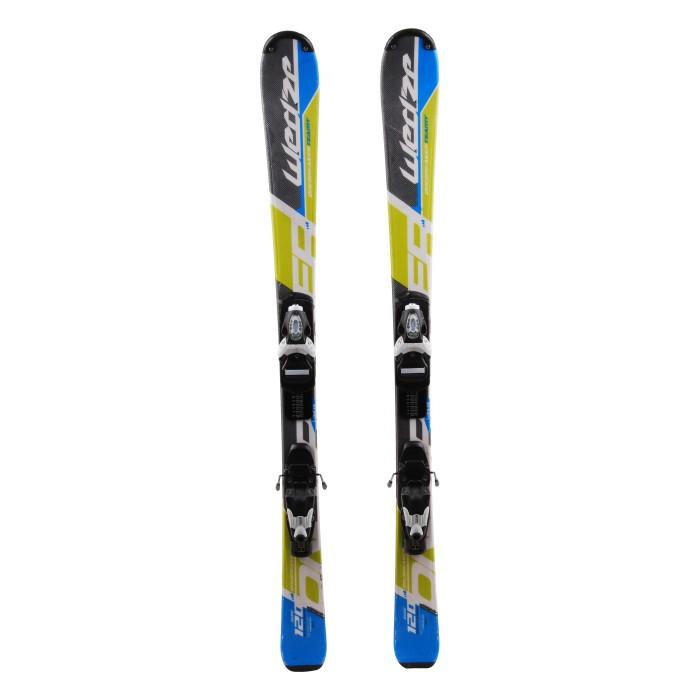 Ocasión de esquí junior Wedze Onebreaker Teamy - fijaciones