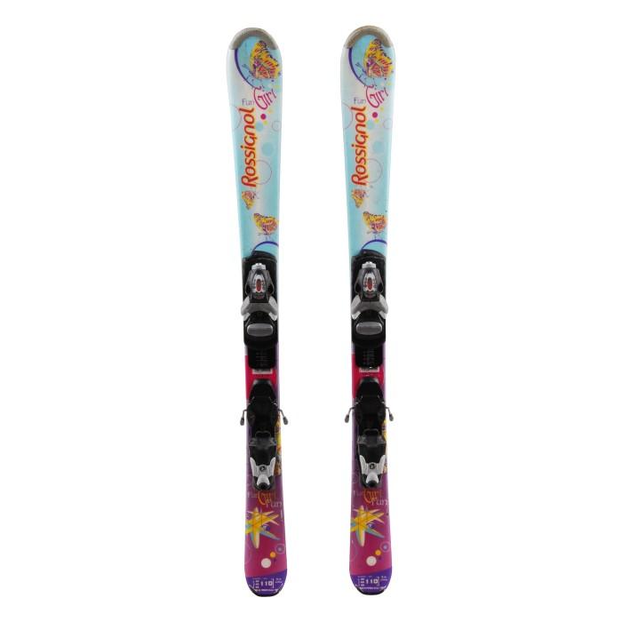 Ski occasion junior Rossignol fun Girl ' bindings