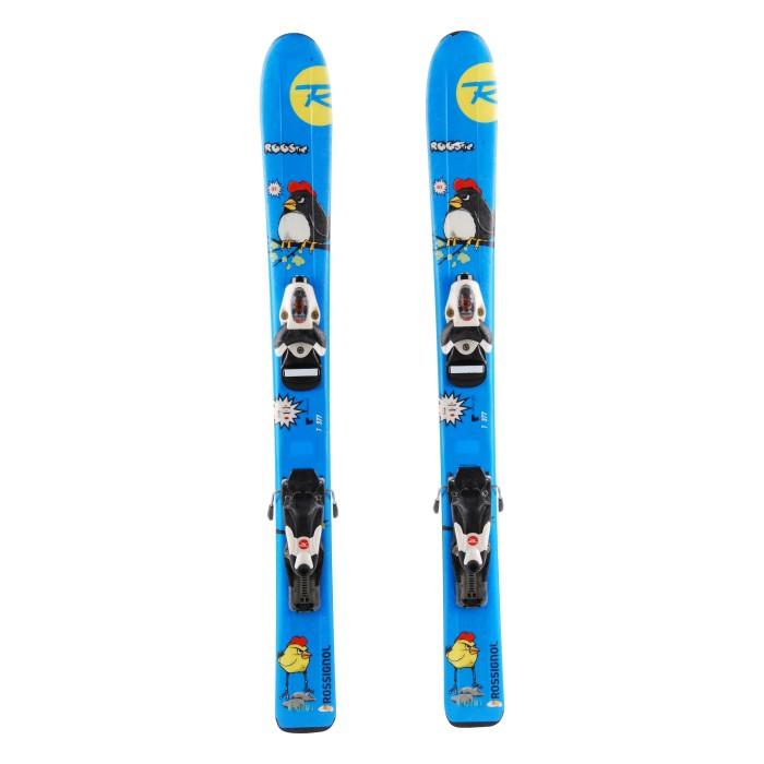 Ocasión de esquí junior Rossignol Roostie - fijaciones