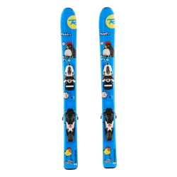 Ski occasion junior Rossignol Roostie + fixations
