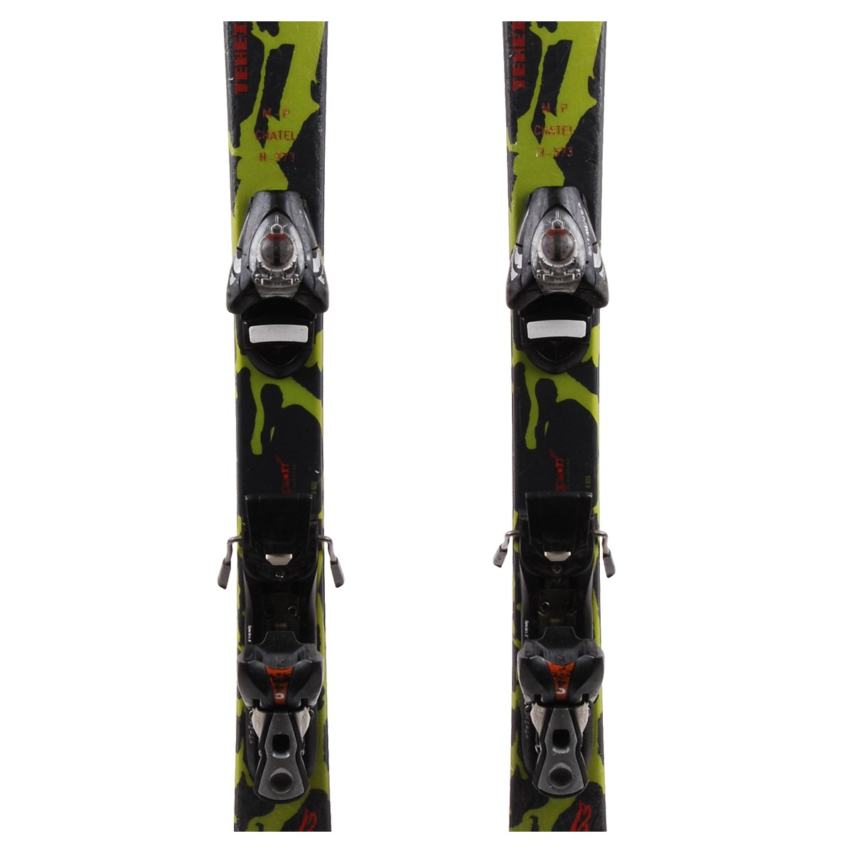Ski occasion junior Salomon Teneighty T + fixations