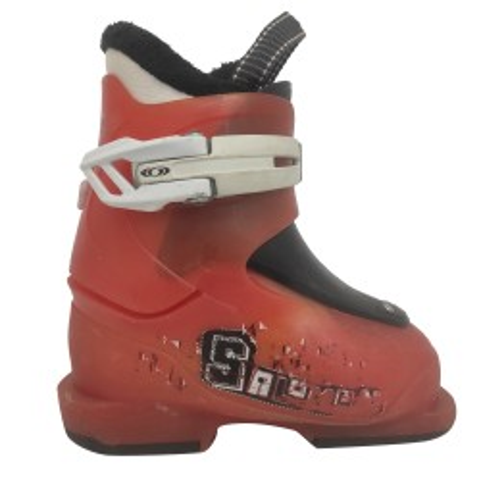 Salomon Junior ST1 orange ski boot