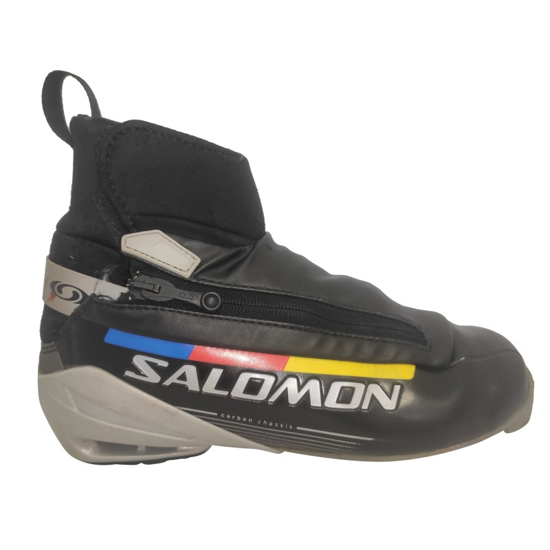Chaussure ski fond occasion Salomon Carbon chassis SNS Pilot