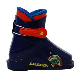 Chaussure de ski occasion junior Salomon T1 bleu