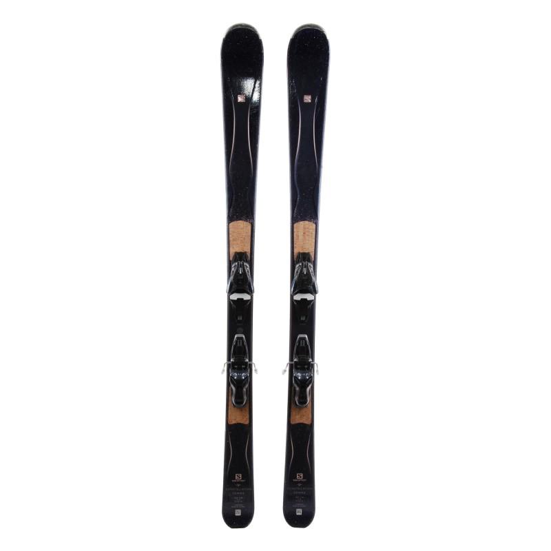 Ski Salomon Gemma occasion Qualité A + fixations