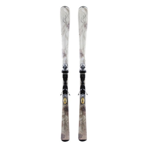 Ski occasion Elan White Magic - bindings