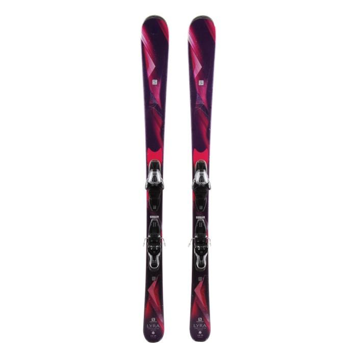 Ski Salomon Lyra + Befestigungen