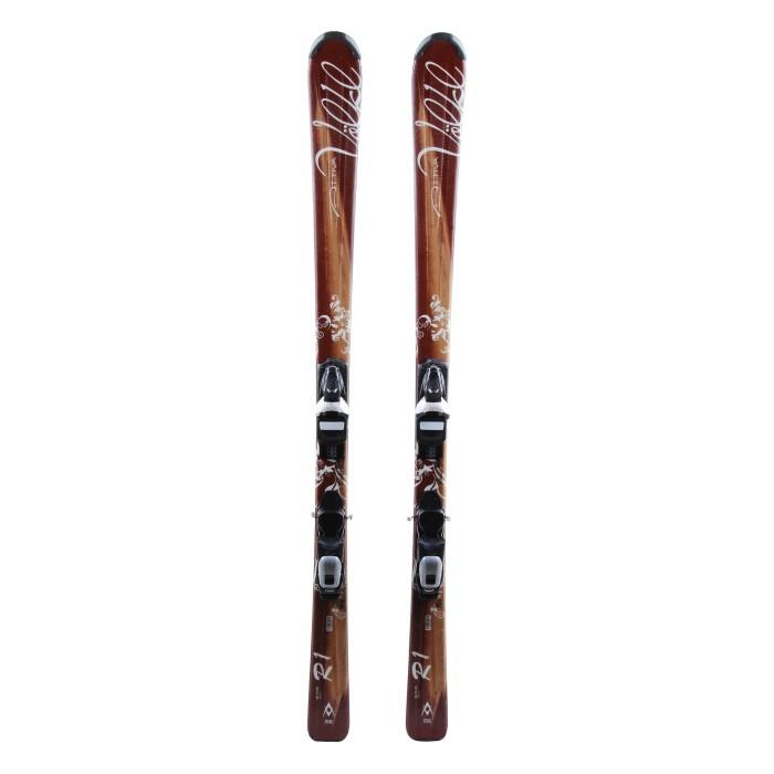 Ski Volkl Attiva R1 + bindings