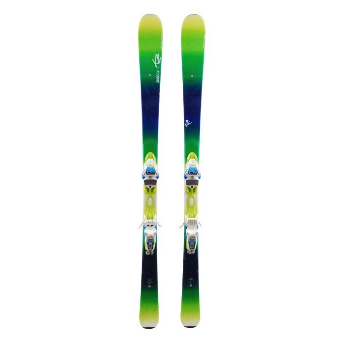 Ski K2 Tainted Luv 74 + bindings