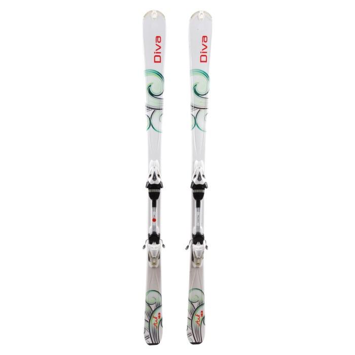 Ski Head Stuf Diva + bindings