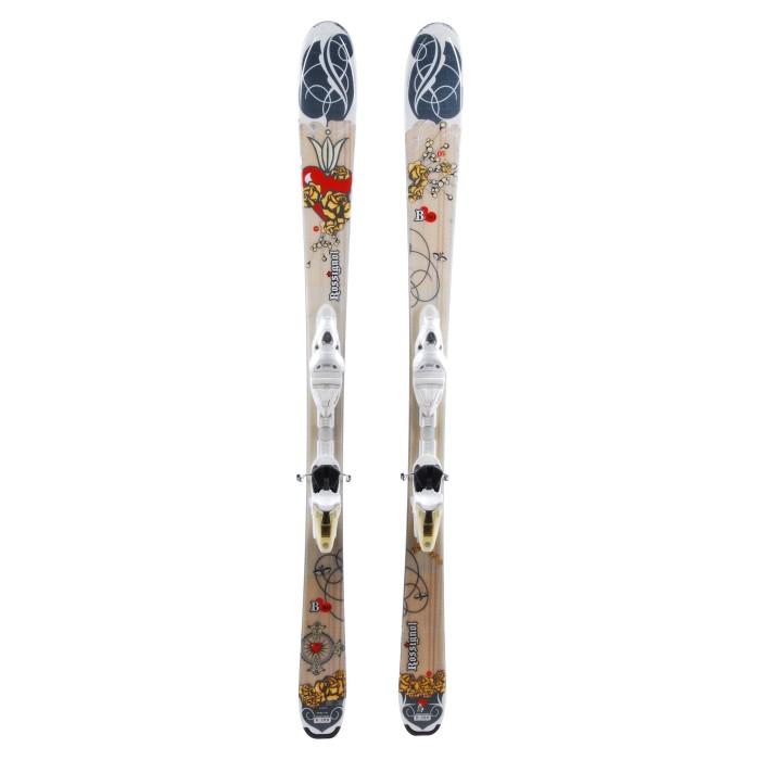 Ski occasion Rossignol Bandit B80 W - bindings