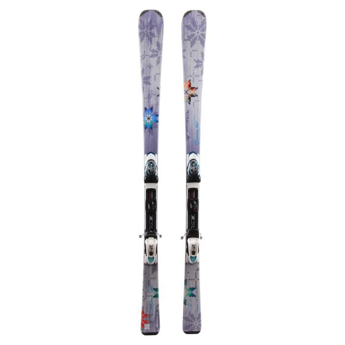 Ski occasion Nordica Cinnamon girl + fixations