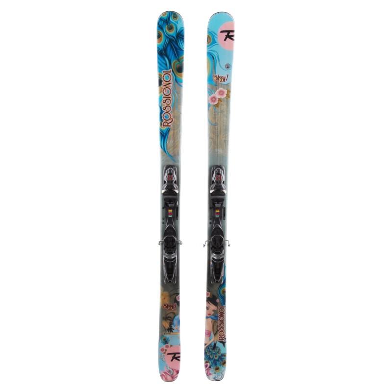 Ski occasion Rossignol Sassy 7 Qualité A + fixations
