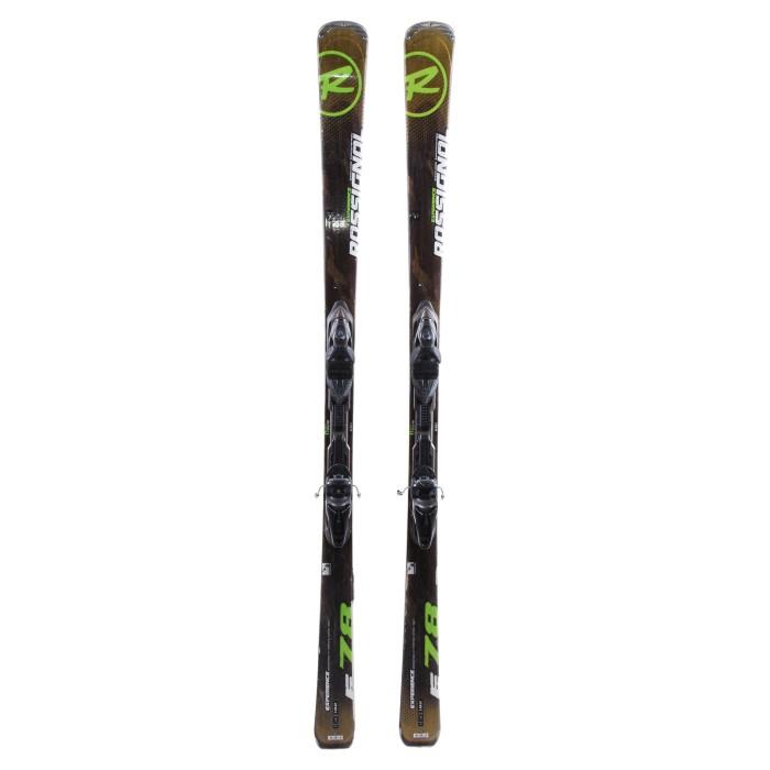 Ski occasion Rossignol Experience 78 - bindings