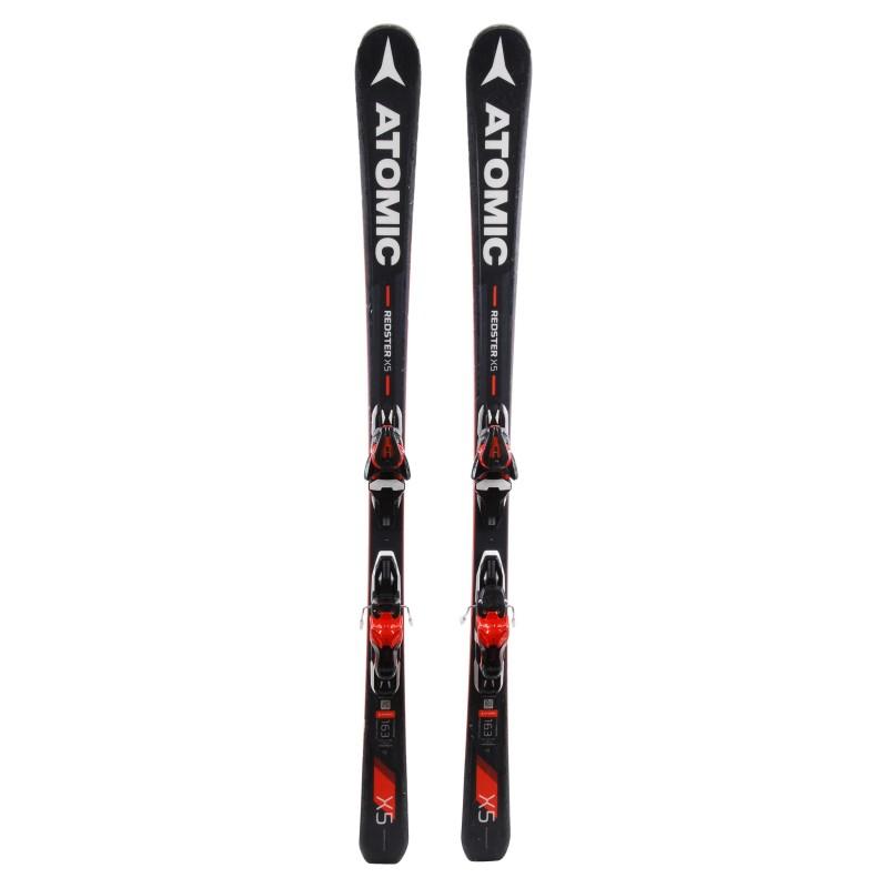 Ski Atomic Redster X5 occasion Qualité A + fixations