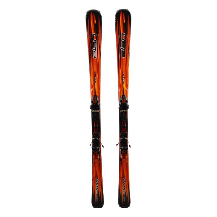 Ski used Elan Mag 8 Fusion - bindings
