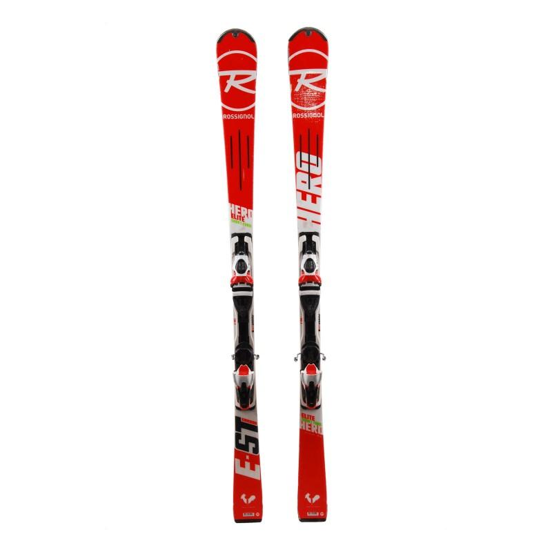 Rossignol Hero Elite ST Carbon Sekundenzeiger Ski und 2. Wahl Bindungen