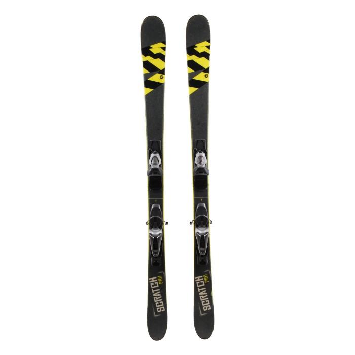 Ski Gelegenheit Rossignol Scratch pro grau - Bindungen