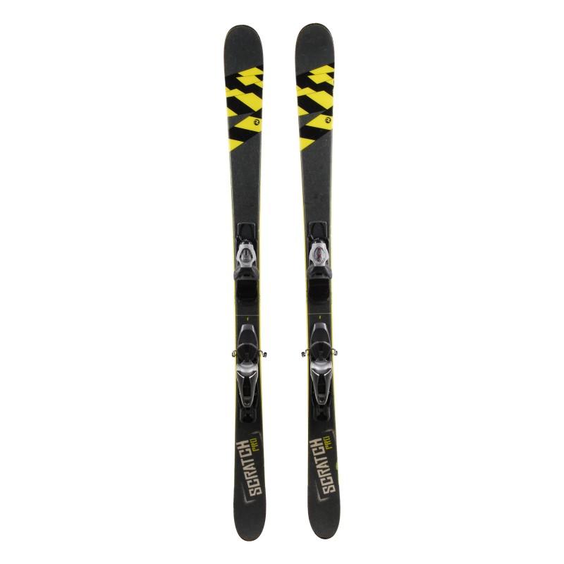 Ski occasion Rossignol Scratch pro gris Qualité B + fixations