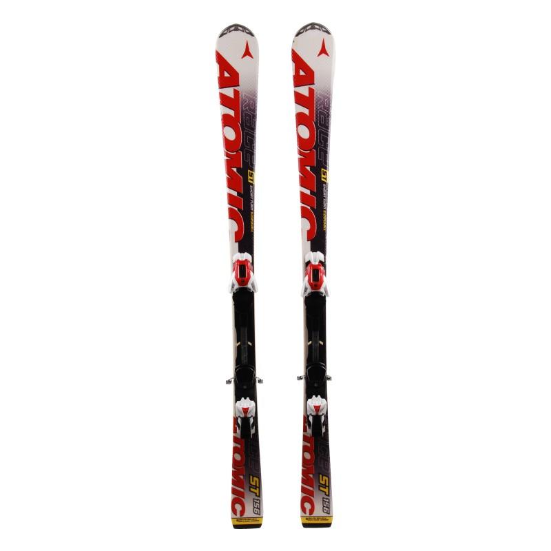 Ski occasion Atomic Race LT rouge + Fixations
