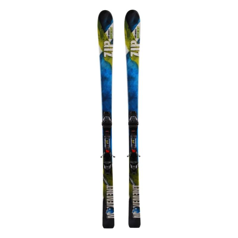 Ski Movement Zip green + bindings