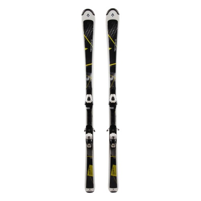 Ski gebraucht Tecnopro Pulse 73 - Befestigungen