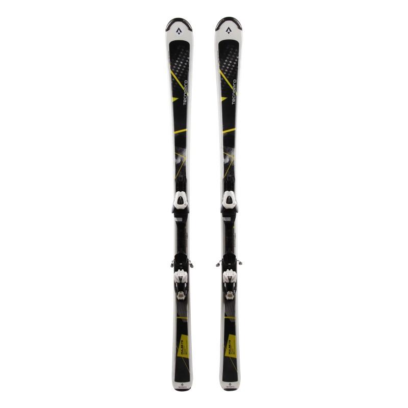 Ski Used Pulse Pulse Weiß 75 + Bindungen