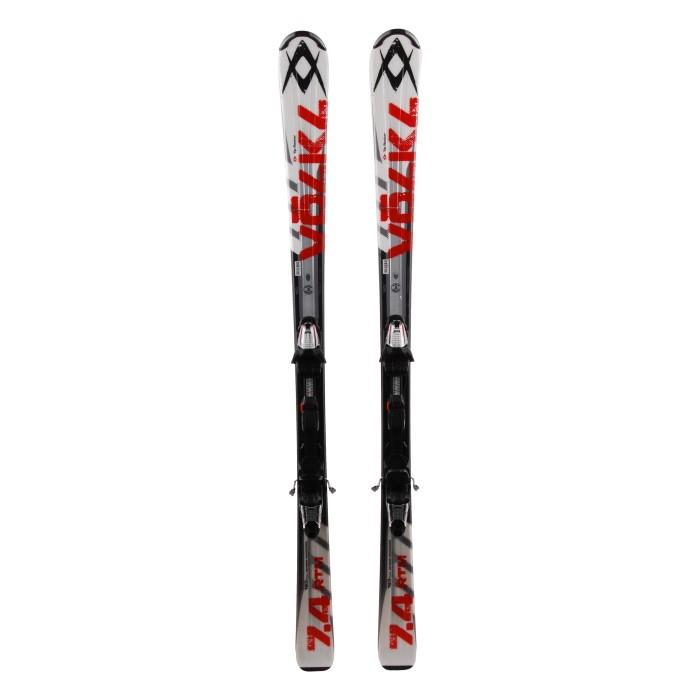 Ski occasion Volkl RTM 7.4 - bindings