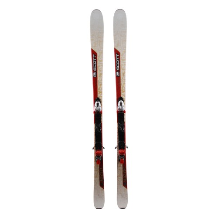 Oportunidad de esquí gris de Scott Azteca - Fijaciones