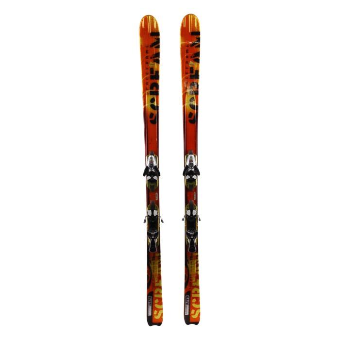 Ski gebraucht Salomon X Scream - Befestigung