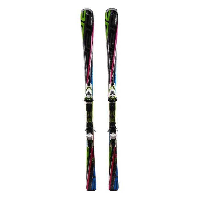 Ocasión de esquí Elan Waveflex 14 D - fijaciones