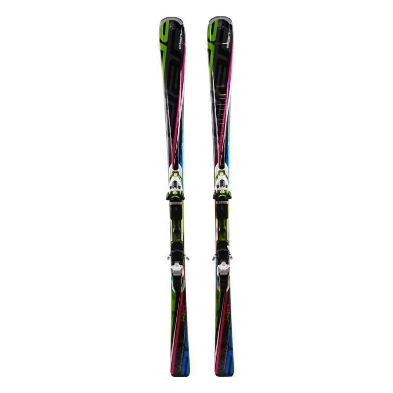 Elan Waveflex 14 White Ski Wear + Fixings