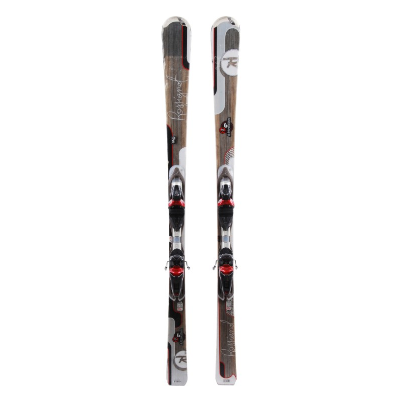 Ski occasion Rossignol Attraxion 6 Echo Qualité B + fixations