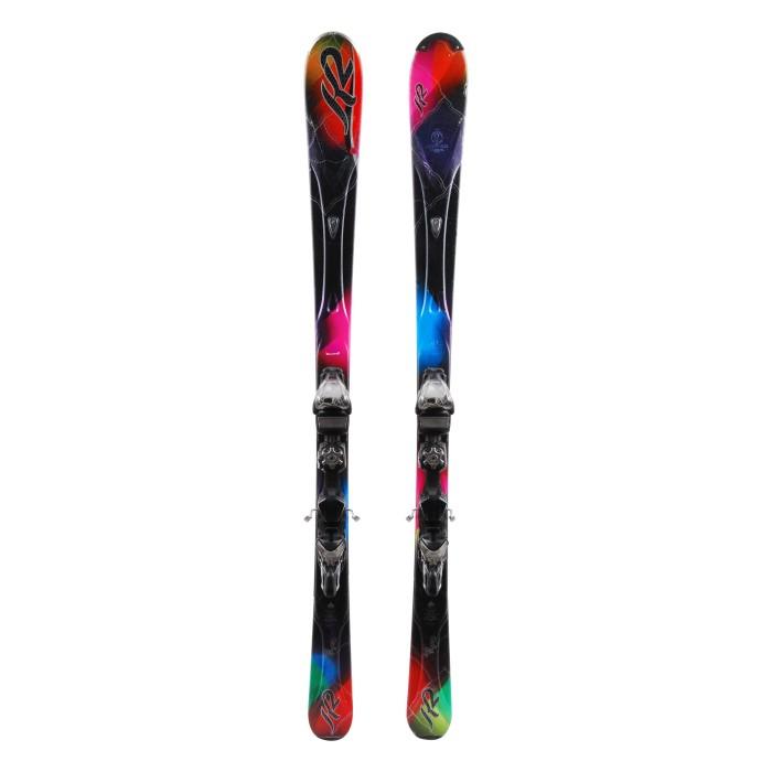 Ski occasion K2 Superburnin + fixations
