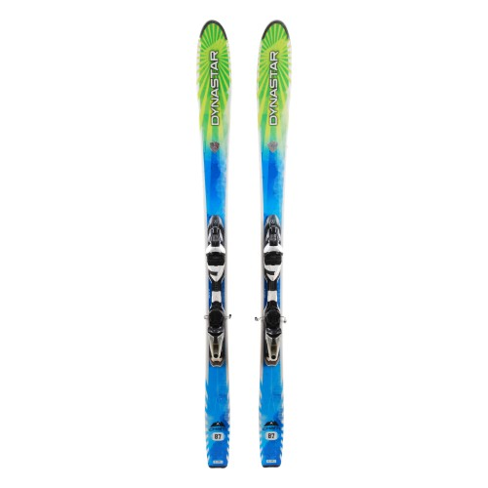 Ski occasion Dynastar Cham 87 + fixations