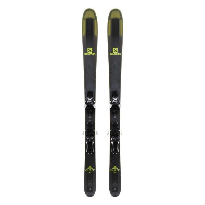 Ski Salomon QST 92 occasion + fixations