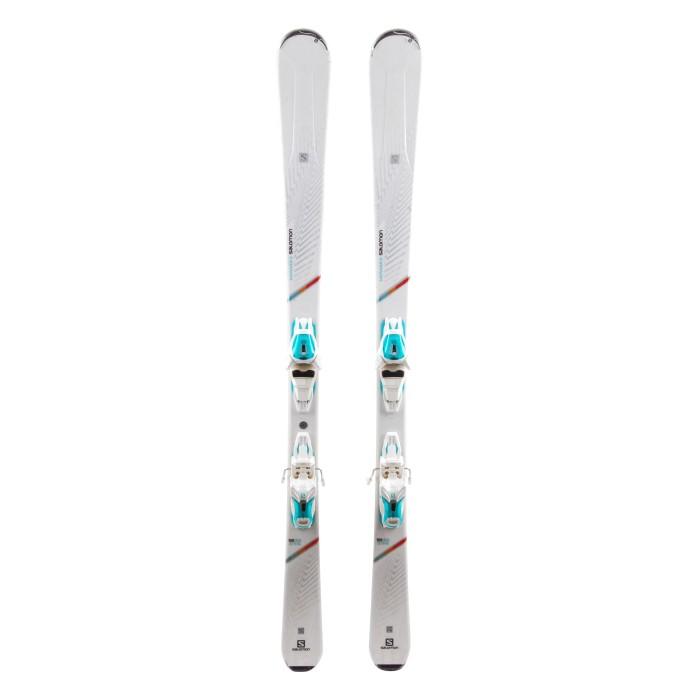 Esquí utilizado Salomon W MAX 6 - fijaciones