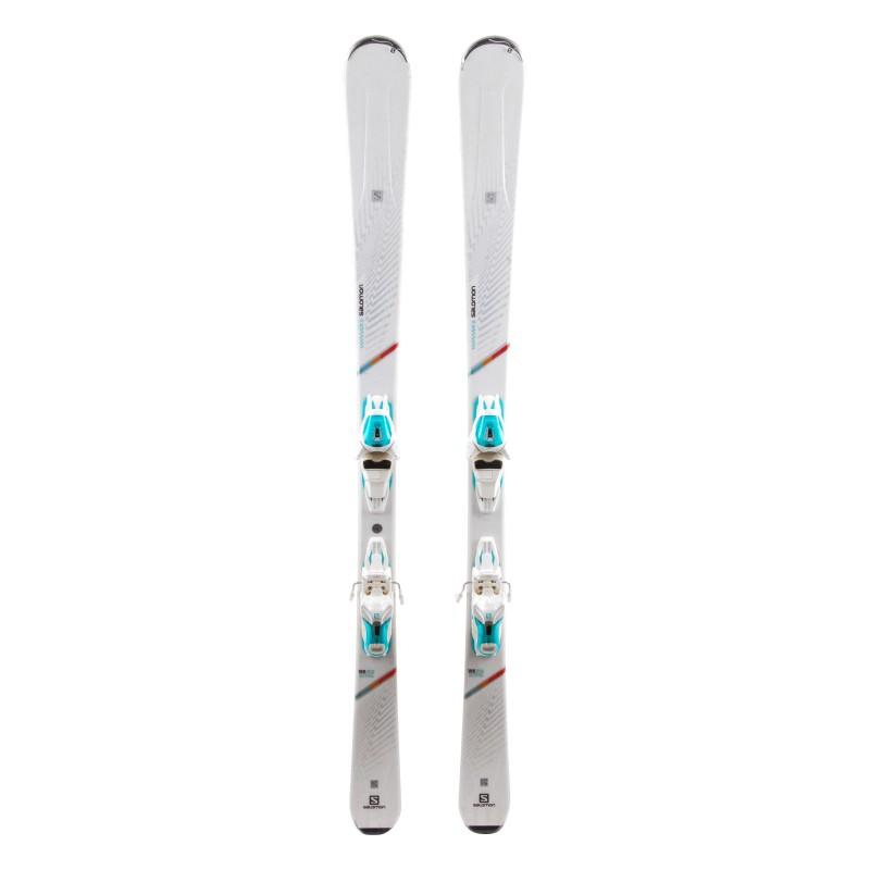 Ski used Salomon W MAX 6 - bindings
