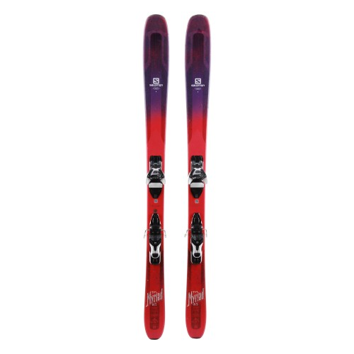 Ski Salomon QST Myriad 85 oportunidad - fijaciones