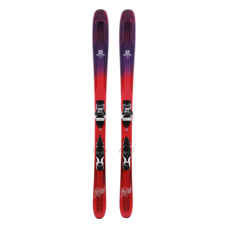Ski Salomon QST Myriad 85 occasion Qualité A + fixations