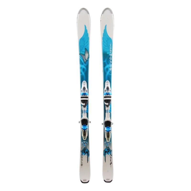 Ocasión de esquí Rossignol B78 W - fijaciones