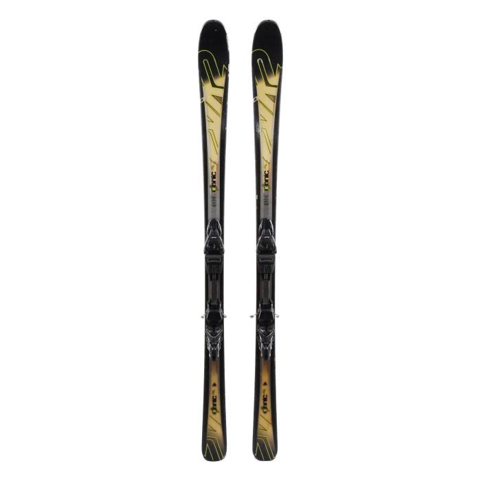 Ocasión de esquí K2 Ikonic 80 TI - fijaciones