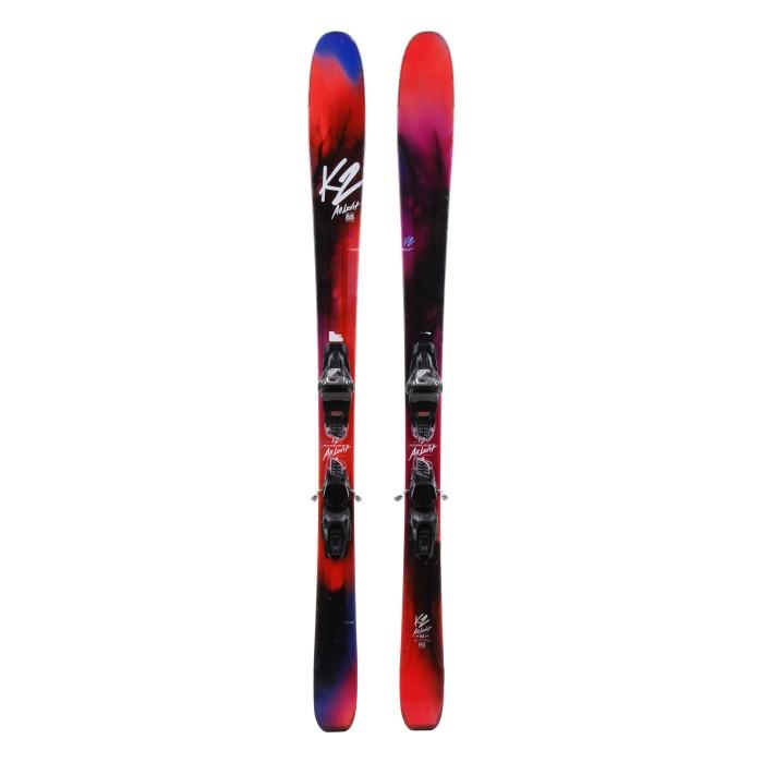 Ski k2 Alluvit 88 occasion + fixations