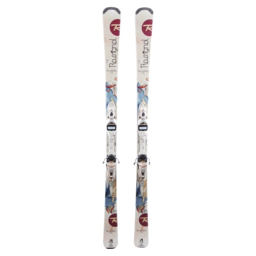 Ski occasion Rossignol Temptation 74 - bindings