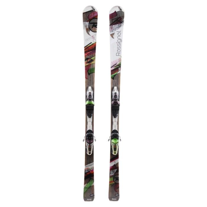 Ski occasion Rossignol Attraxion Echo 6 + fixations