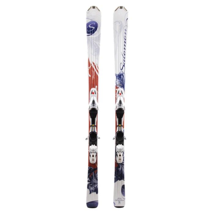 Ski occasion Salomon Pearl - bindings