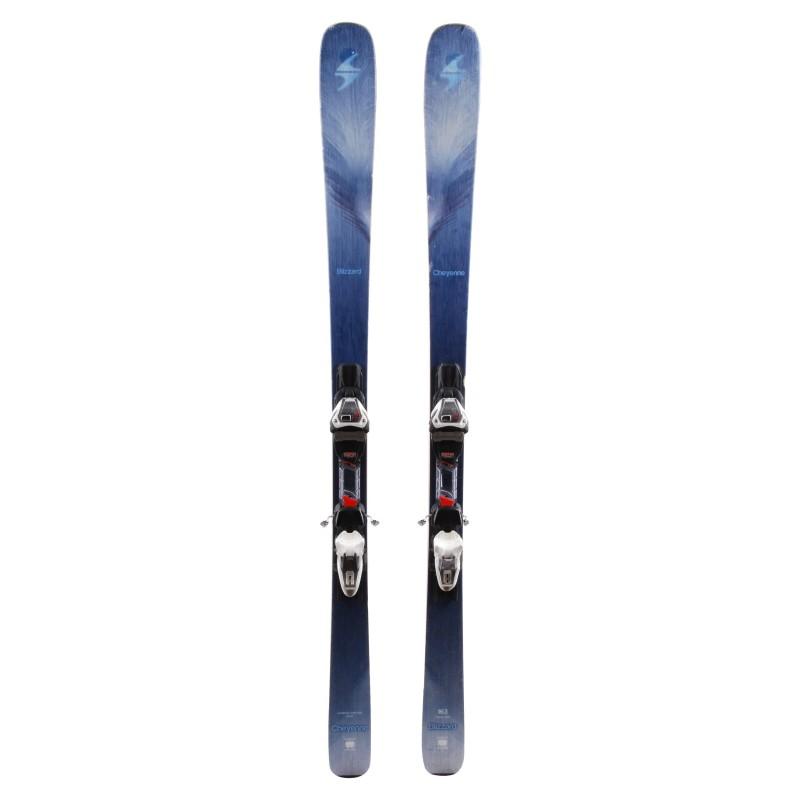 Ski occasion Blizzard Cheyenne qualité B + Fixations