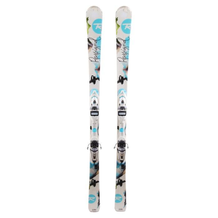 Ski occasion Rossignol Attraxion 1 - fixing