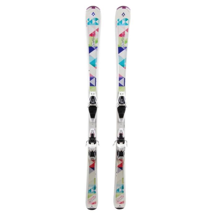 Ski Tecnopro Safine Candy + Bindung
