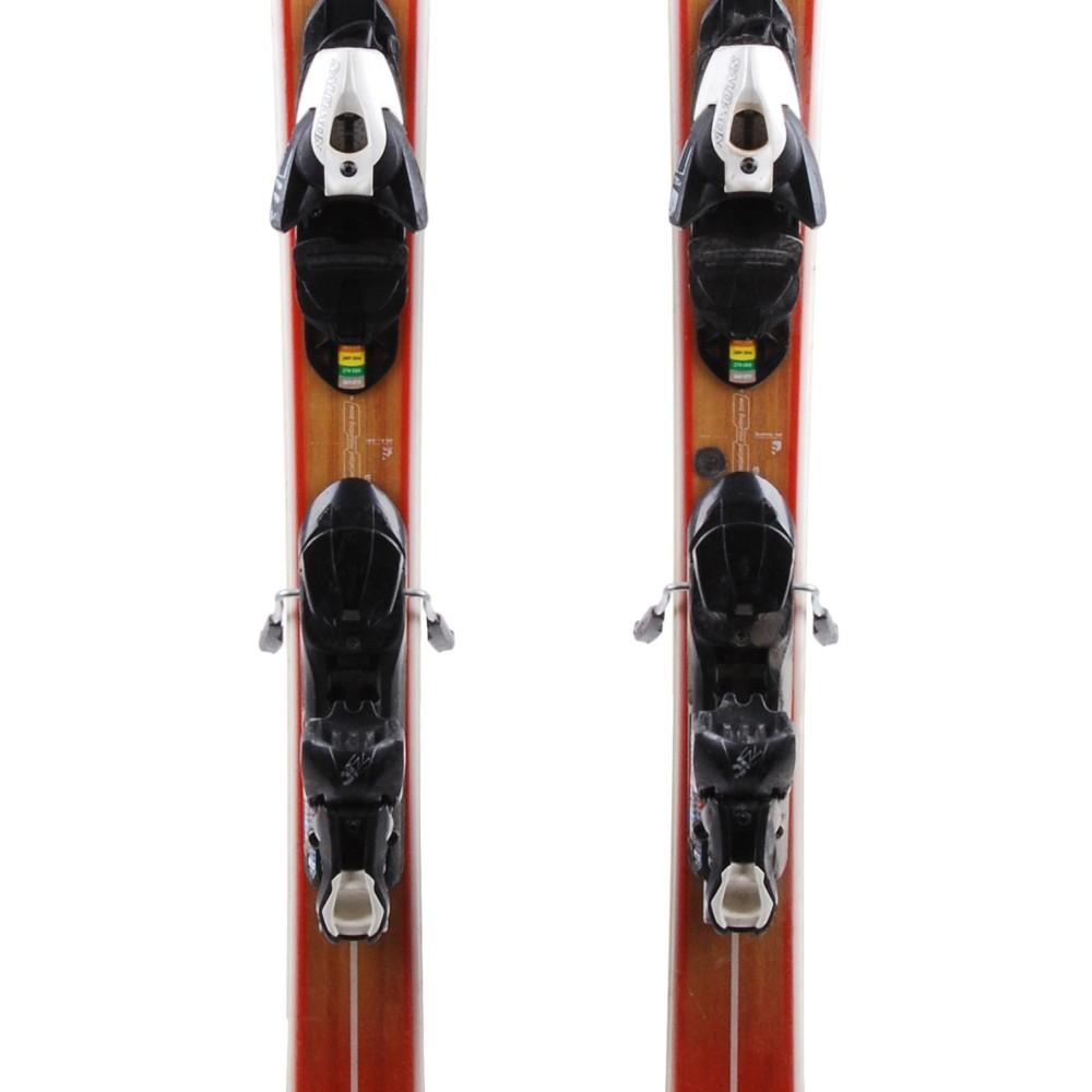 store huge sale outlet store sale Ski occasion Salomon BBR 7.9 Sunlite fleur + fixations